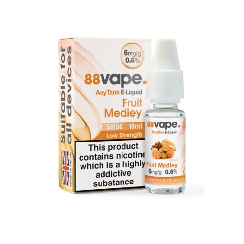 Fruit Medley 50/50 by 88 Vape