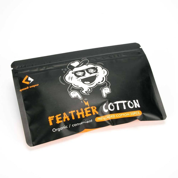 GeekVape Organic Feather Cotton Agleted