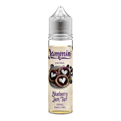 Blueberry Jam Tart by Jammin Aroma 50ml E-Liquid