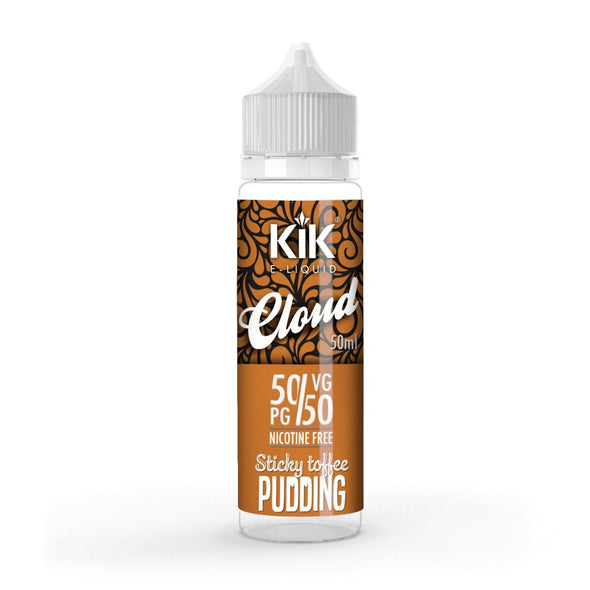 Sticky Toffee Pudding by KiK 50ml Short Fill E-Liquid