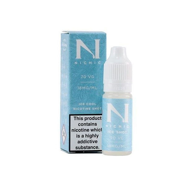 ICE Menthol Nic Shot 18mg 70VG by NicNic