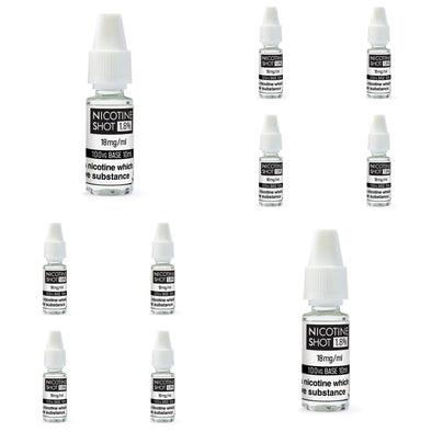 10 x Nic Shots Bundle by 88 Vape