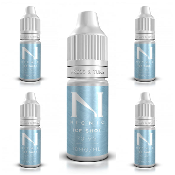 5 x ICE Nic Shots Bundle by NicNic