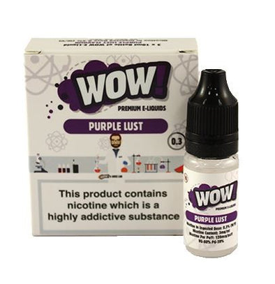 Purple Lust by WOW 3 x 10ml Multipack
