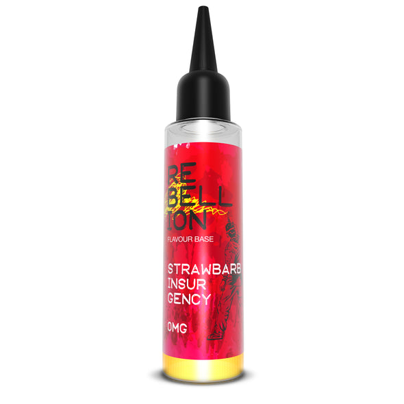 Strawbarb Insurgency by Rebellion 50ml Short Fill E-Liquid