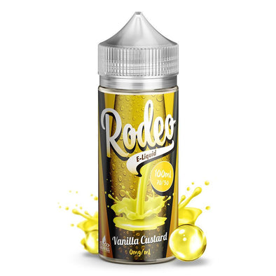 Vanilla Custard by Rodeo 100ml Shortfill E-Liquid