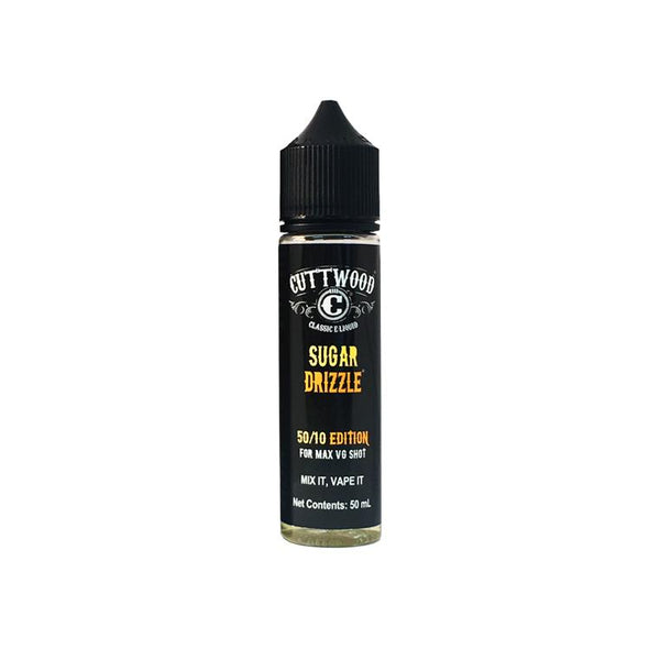 Sugar Drizzle by Cuttwood - 50ml Short Fill E-Liquid