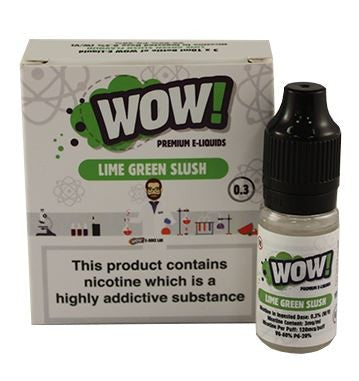Lime Green Slush by WOW 3 x 10ml Multipack