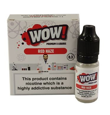 Red Haze by WOW 3 x 10ml Multipack