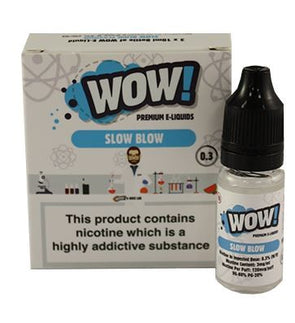 Slow Blow by WOW 3 x 10ml Multipack
