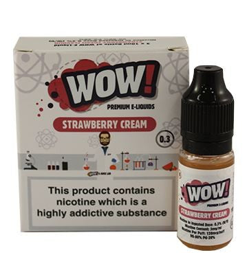 Strawberry Cream by WOW 3 x 10ml Multipack