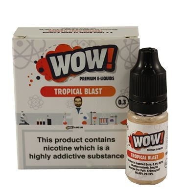 Tropical Blast by WOW 3 x 10ml Multipack