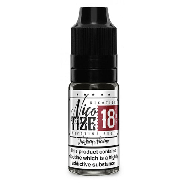 Nic Shot 18mg 70VG Nicotize by Zeus Juice