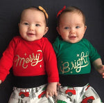 Twins Christmas Outfits - Merry and Bright