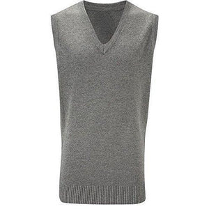 Boys Girls Knitted Tank Top Pullover Jumper Unisex Sleeveless V Neck School Ages 4-18 + Adult Sizes