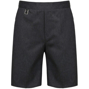 Boys Pull Up School Uniform Shorts Elasticated Pull On Black Grey Navy Ages 2 3 4 5 6 7 8 9 10 11 12 13 14 15 16