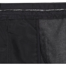 Load image into Gallery viewer, Boys Sturdy Fit School Trousers Plus Fit Elasticated Waist (Ages 7-16) XS - 3XL Generous Fit Wider Waist Shorter Leg - Black Grey