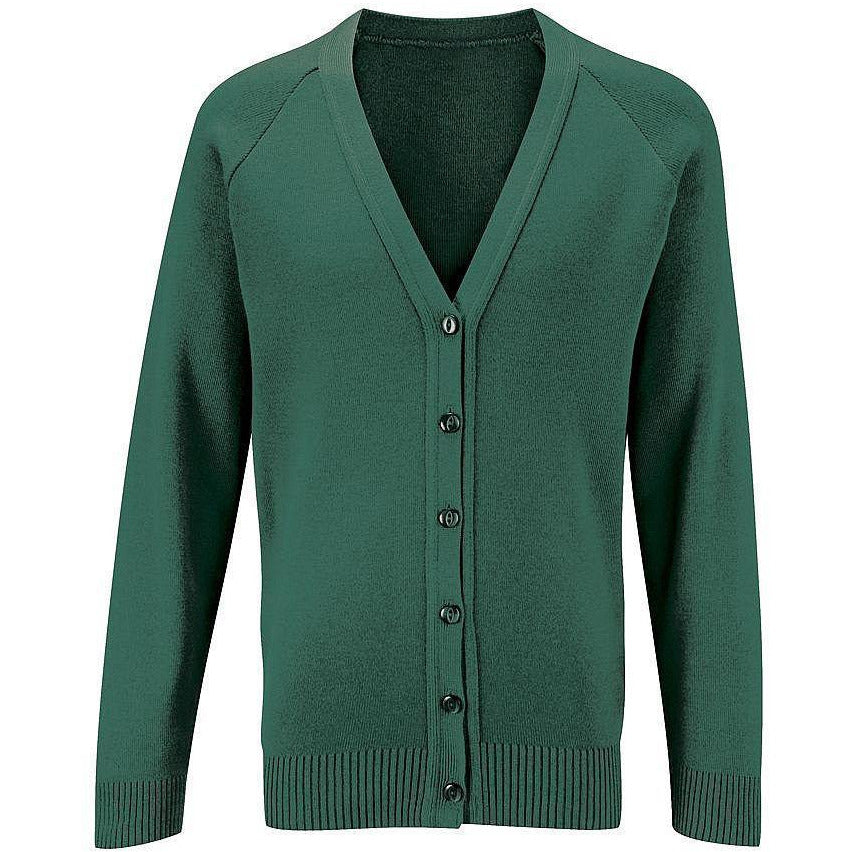Girls School Knitted Cardigan Uniform Age 3 4 5 6 7 8 9 10 11 12 13 14 15 16 + Adult Sizes