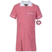 Load image into Gallery viewer, Miss Chief Girl's School Gingham Summer Dress Age 3 4 5 6 7 8 9 10 11 12 13 14 15 16 17 18 20 Pleated