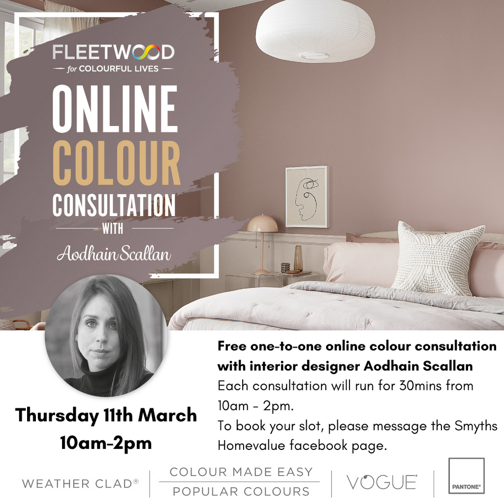Online Colour Consultation With Aodhain Scallan