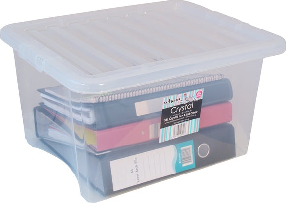 Whatmore Crystal 35Ltr Storage Box