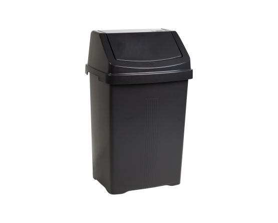 Casa 25L Swing Bin Midnight