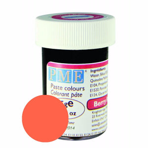 PME Food Colouring Paste - Berry Red
