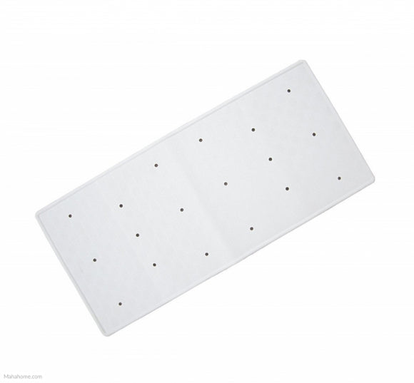 Rubber White Bath Mat
