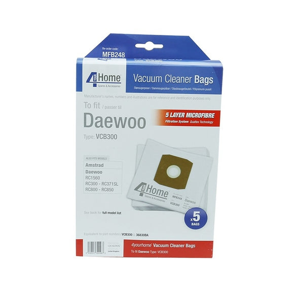 Daewoo Replacement Vacuum Cleaner Bags