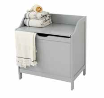 Grey Colonial Monks Laundry Storage