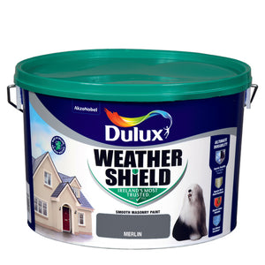 Dulux Weathershield Merlin  10L