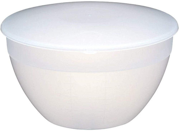 Kitchen Craft Plastic Pudding Basin and Lid 2.3 litre (