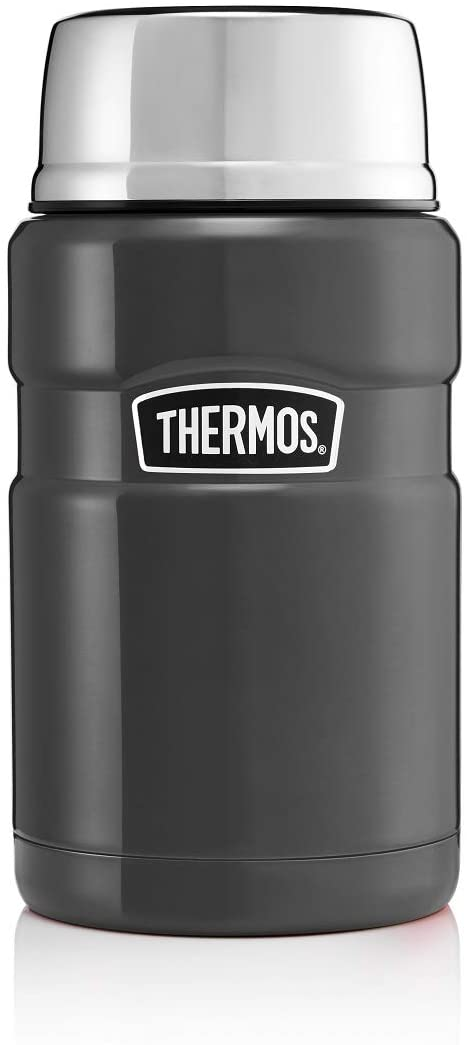Thermos Stainless King Food Flask, Gun Metal,