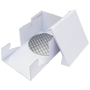 "14"" PME Round Cake Card & Box"