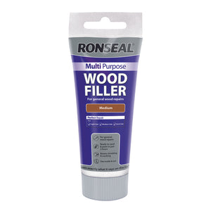 Ronseal Multi Purpose Wood Filler Tube 325g Medium