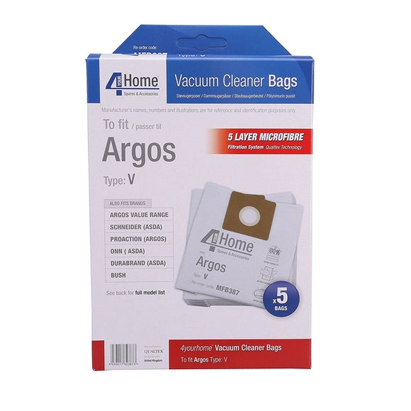 Argos Replacement Vacuum Cleaner Bags