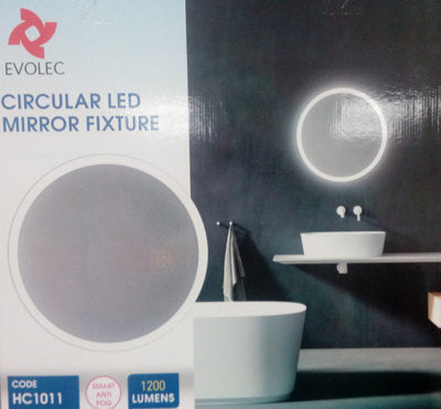 CIRCULAR LED DIMMABLE MIRROR