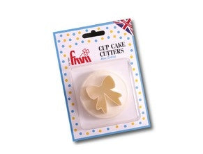 FMM Cup Cake Cutter Bow/Scallop