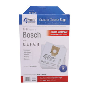 Bosch Replacement Vacuum Cleaner Bags