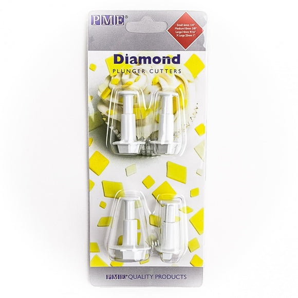 PME Diamond Plunger Cutter set of 4
