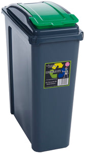 Whatmore 25Ltr Recycling Slim Bin & Lid
