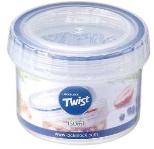 Lock & Lock 150ml Twist Lock Round Container