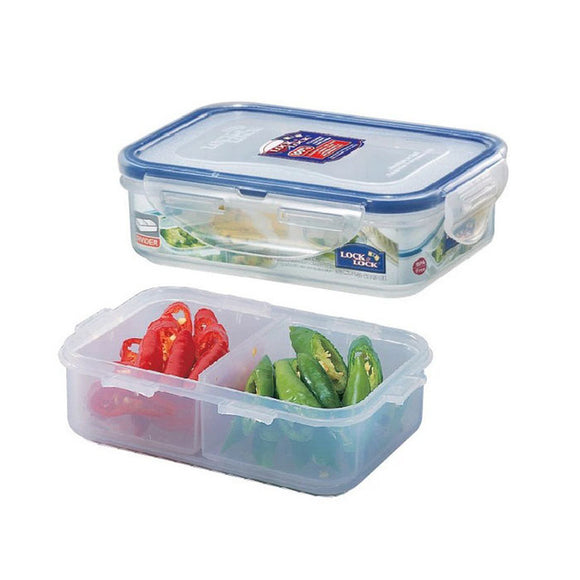 Lock & Lock 360ml Rectangular Food Container with Divider