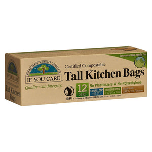 If You Care Food Tall Kitchen Bags
