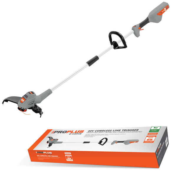 Proplus EVOLVE 40v Cordless Straight Split Shaft Line Strimmer