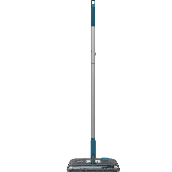 Black + Decker 7.2Wh Lithium-ion Floor Sweeper - Blue