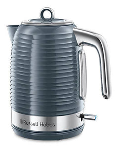Russell Hobbs Inspire Black Kettle - Grey