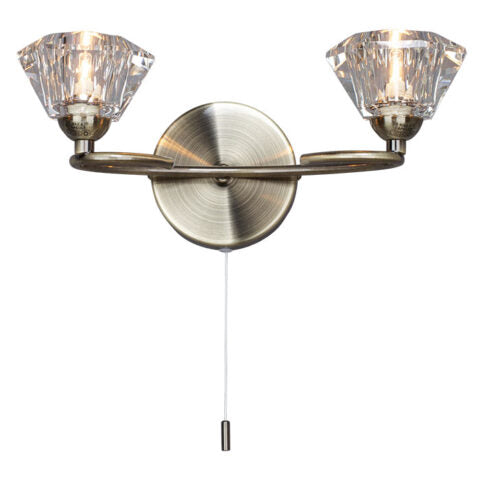 40 Watt Anti Brass Wall Light