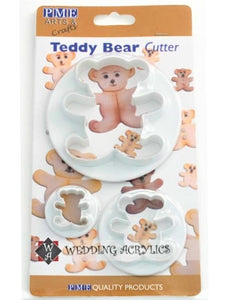 PME Teddy Bear Cutter set of 3