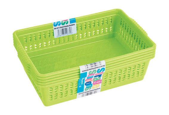 Whatmore Handy Baskets Small Set of 5